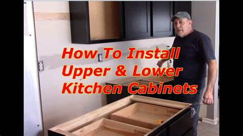 How To Kitchen Cabinets Replace Youtube