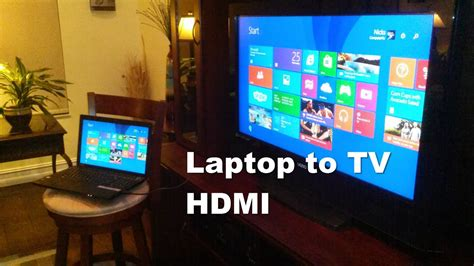 How To Laptop To Tv