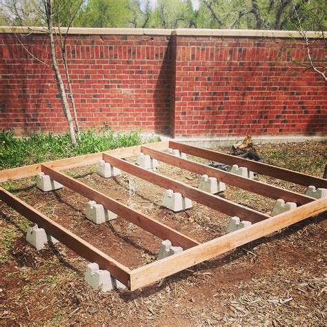 How To Lay Out A Deck Foundation