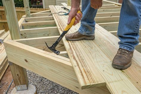 How To Lay Wood Decking