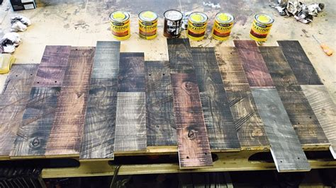 How To Layer Stains On Wood