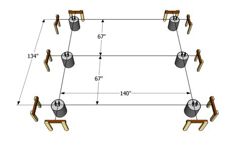 How To Layout Deck Footings