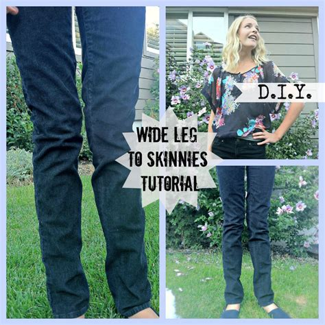 How To Legs On A Pair Of Sweatpants Skinny