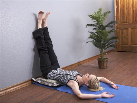 How To Legs Up The Wall Pose Without A Wall