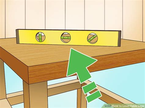 How To Level A Table With 4 Legs