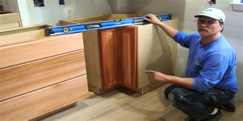 How To Level Cabinets On An Unlevel Floor