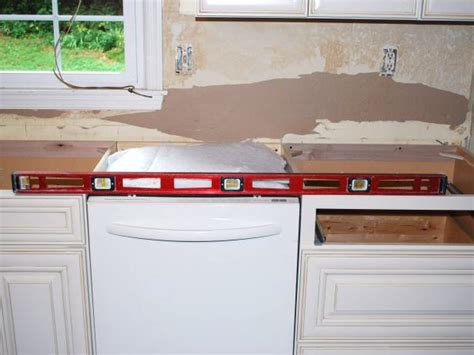 How To Level Existing Cabinets For Quartz Countertops