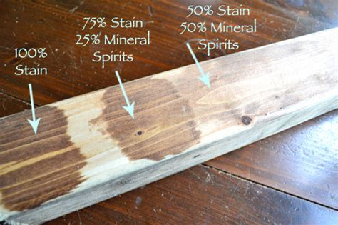 How To Lighten Wood Stain Before Applying A Splint