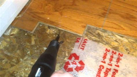 How To Loosen Glued On Carpet From Wood Floor