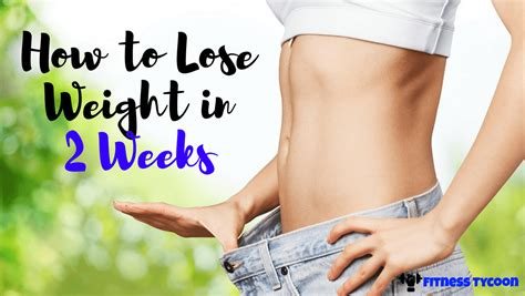 How To Lose Weight In 2 Weeks At Gym