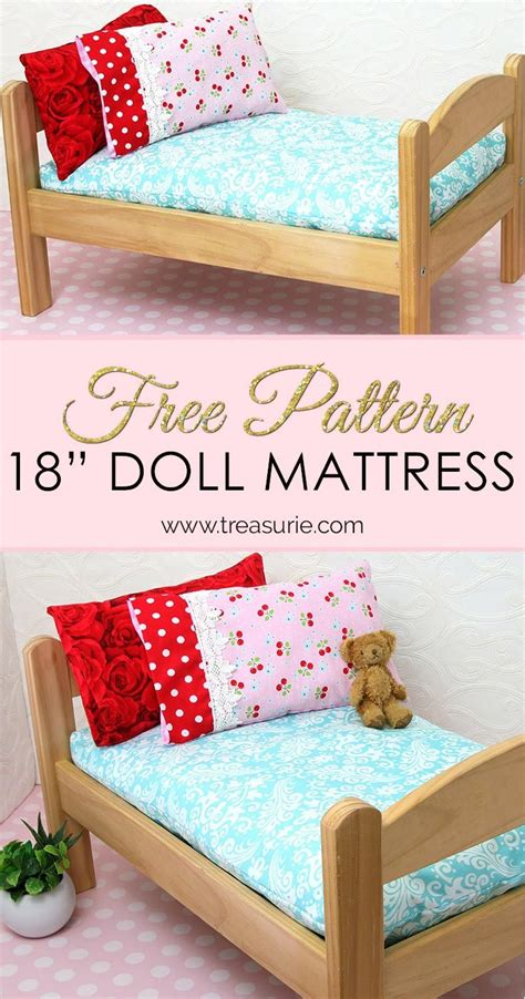 How To Make 18 Inch Doll Bed Mattress