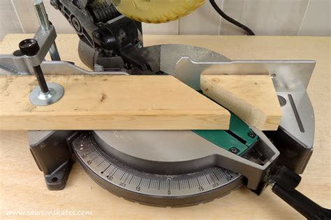 How To Make 45 Degree Cuts With A Miter Saw