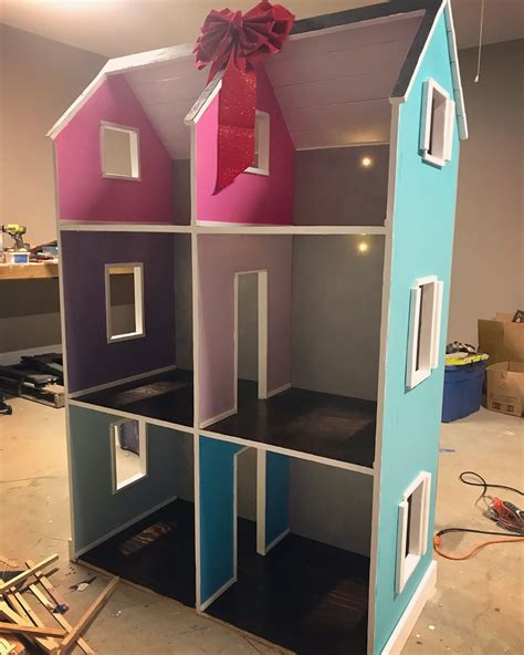 How To Make A 18 Inch Doll House From Shelves And Ledges