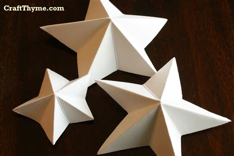 How To Make A 3 Dimensional Star