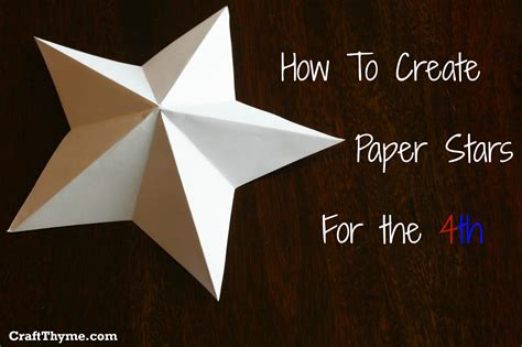 How To Make A 5 Point Star