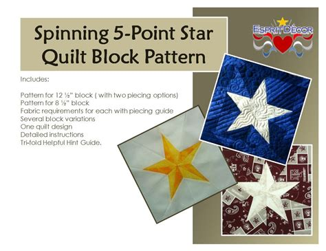 How To Make A 5 Point Star Quilt Block