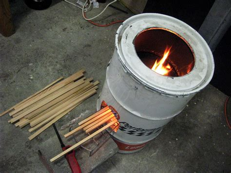 How To Make A 55 Gal Drum Wood Stove