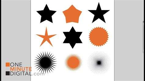 How To Make A 6 Point Star In Illustrator