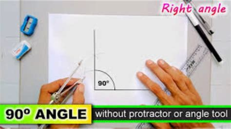 How To Make A 90 Degree Angle With A Square