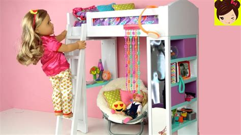 How To Make A American Girl Doll Bunk Beddesk My Froggy Stuff