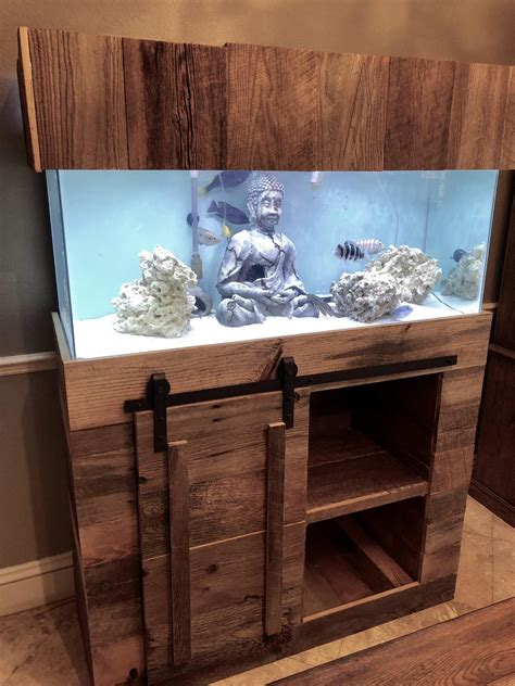 How To Make A Aquarium Stand