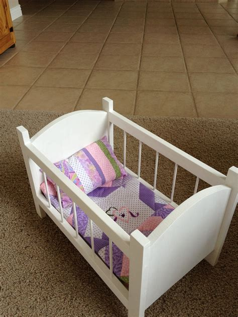 How To Make A Baby Bed For Dolls