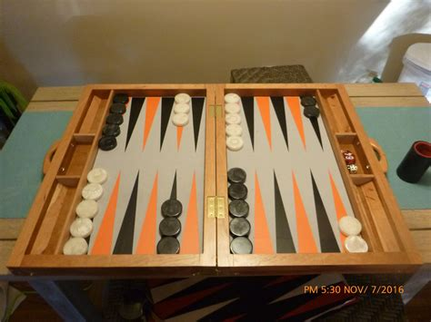 How To Make A Backgammon Board Diy