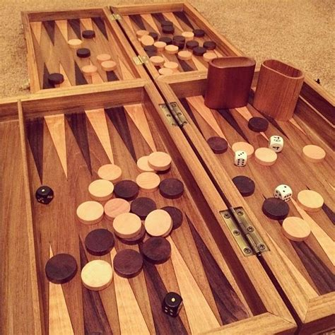 How To Make A Backgammon Board Game