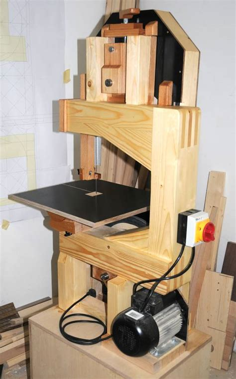 How To Make A Bandsaw Out Of Wood