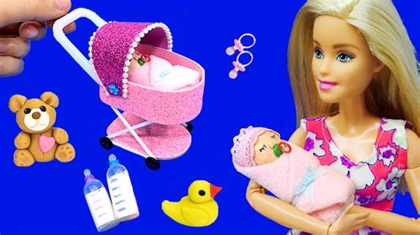 How To Make A Barbie Doll Stroller