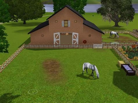 How To Make A Barn For Horse Sims 3