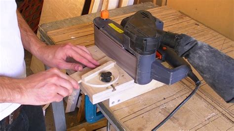 How To Make A Belt Sander Into A Bench Sander