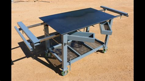 How To Make A Bench Top Folding Weld Booth