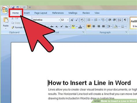 How To Make A Blank Document Horizontal