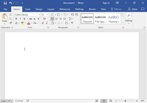 How To Make A Blank Document On Windows 7