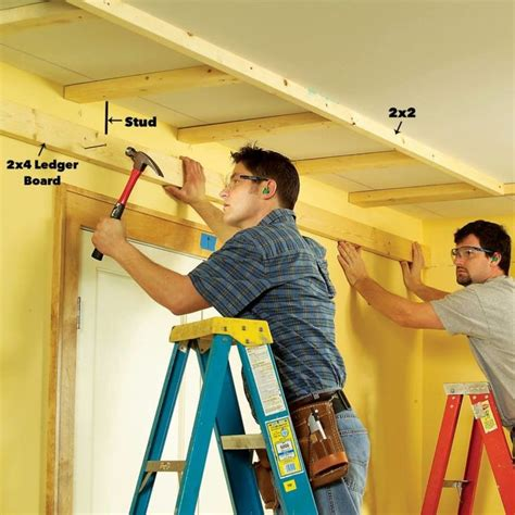 How To Make A Box Frame For Ceiling Drywall