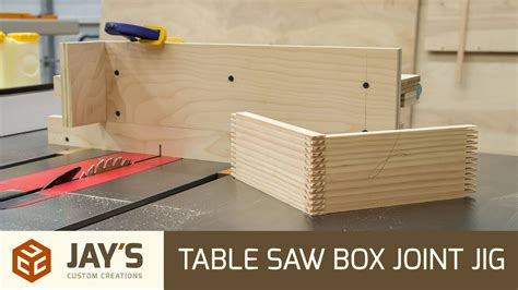 How To Make A Box Joint Jig For A Table Saw