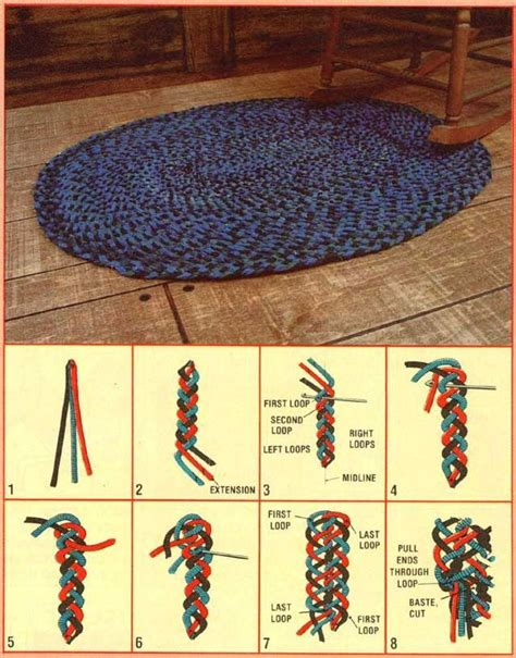 How To Make A Braded Rug