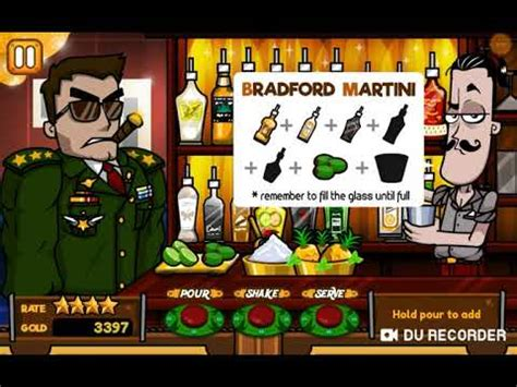 How To Make A Bradford Martini Bartender Game