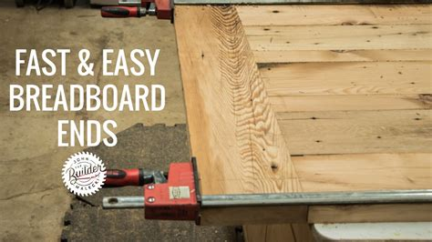 How To Make A Breadboard Edge With A Router