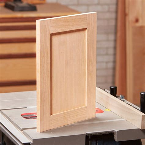 How To Make A Cabinet Door From Plywood Sheets