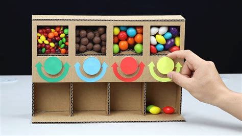 How To Make A Candy Dispenser At Home