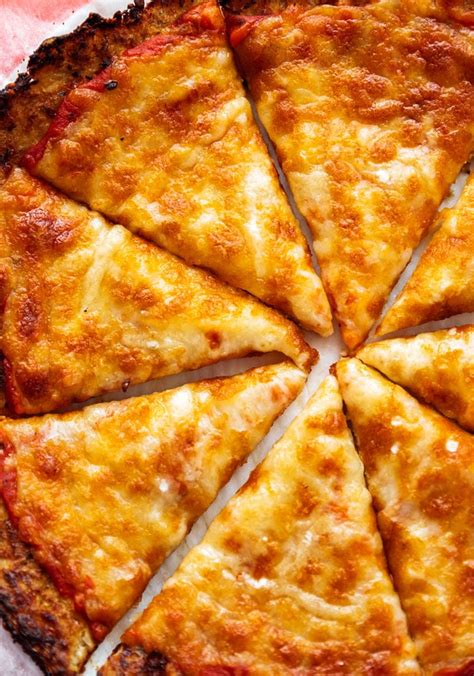How To Make A Cauliflower Pizza Crust Crispy