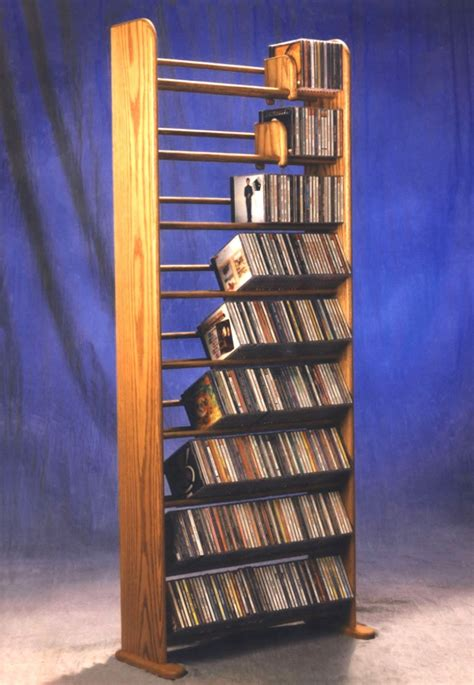 How To Make A Cd Dvd Rack