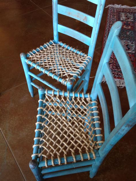 How To Make A Chair Seat With Rope
