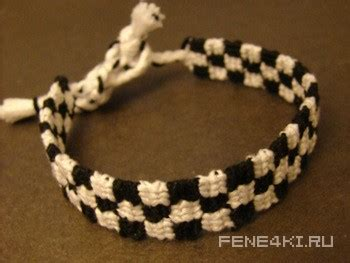 How To Make A Checkerboard Bracelet