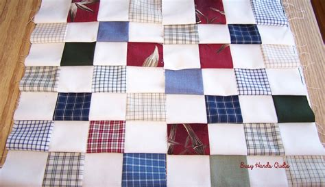How To Make A Checkerboard Quilt