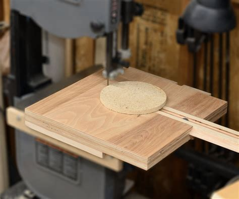How To Make A Circle Cutting Jig For Bandsaw