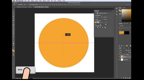 How To Make A Circle In Photoshop Cc