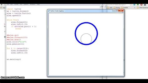 How To Make A Circle In Python